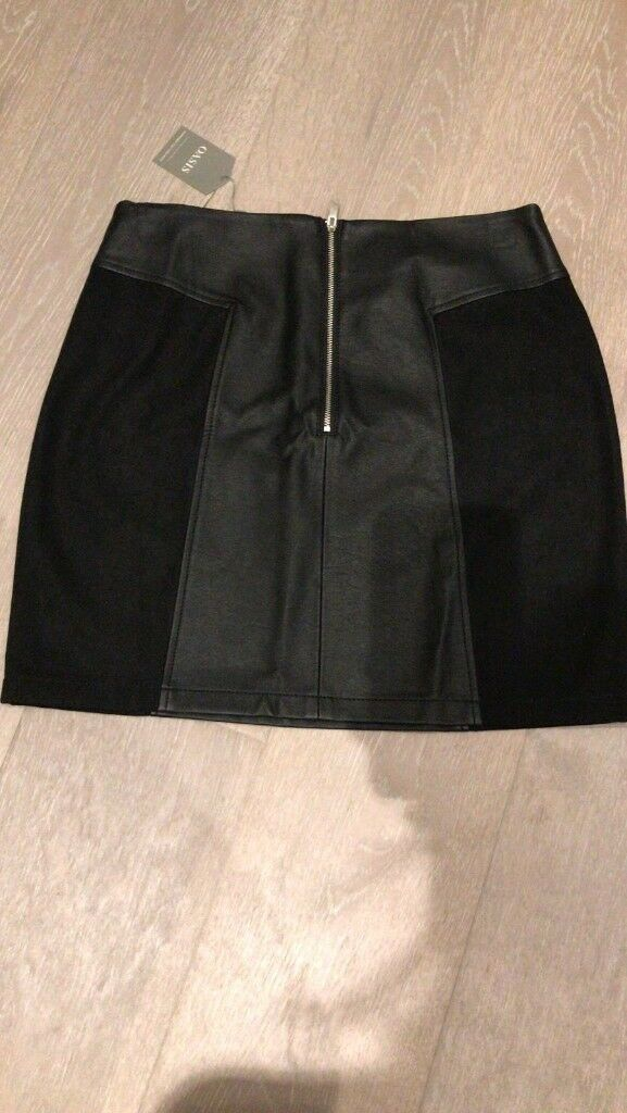 8b2ec1f239 New oasis faux leather skirt | in North West London, London | Gumtree