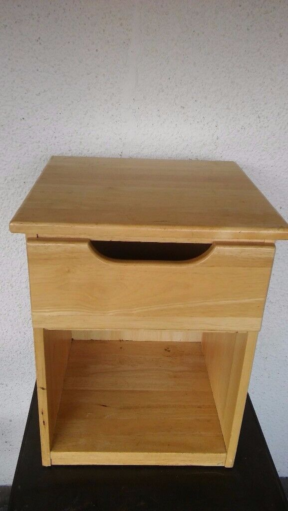 Pine bedside draws ***Can deliver***