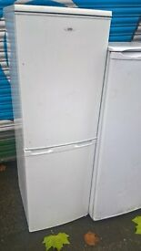 white fridge freezer.....cheap free delivery