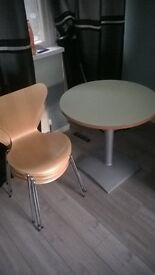4 chairs and table very sturdy