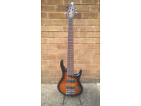 MTD KZ6 6 string bass guitar with Bartolini p/ups and preamp