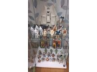 VINTAGE STAR WARS COLLECTIONS WANTED BY COLLECTOR. GOOD PRICES PAID IN CASH, WILL TRAVEL