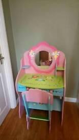 Libery House Fairy Dressing Table & Chair