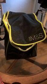 M and S cool bag