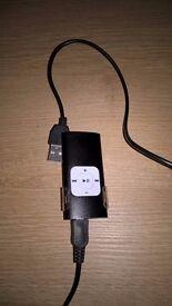 Black MP3 Player.