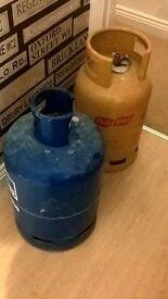 15kg Gas bottles FULL butane