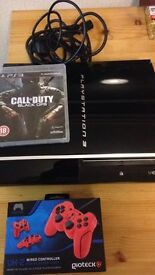 Ps3 with controller and game
