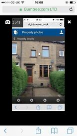 To let large 2 bed terrace