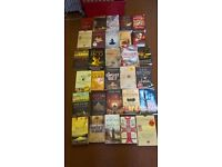 large bundle of 30 historial fiction books, all great titles in pics vgc. bargain only £15