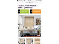 Brand new window blind 53 x 80cm - still in box