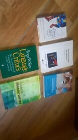 Linguistics books- bundle for Uni - reduced to £8