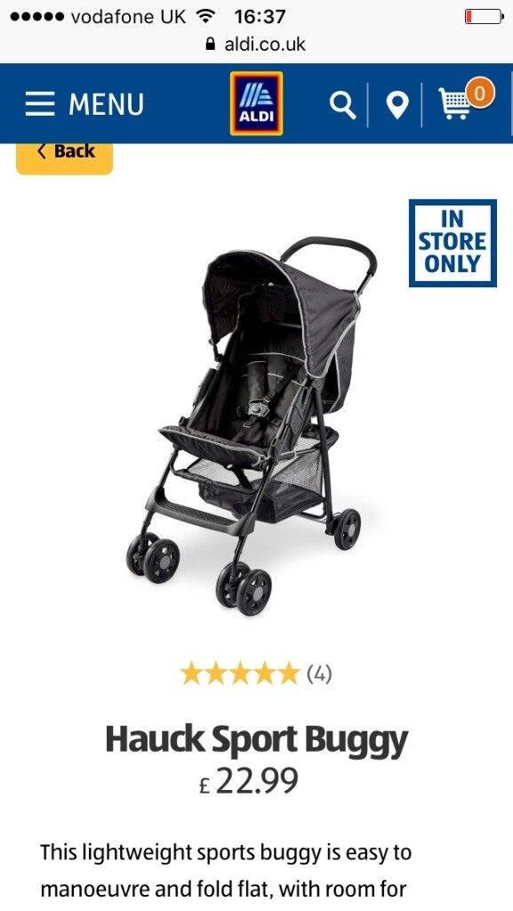 Two haux strollers