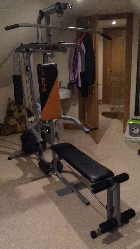 At Home Multi Gym V-Fit ST perfect condition