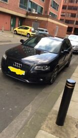 2011 AUDI A3 2.0TDI (140) BLACK EDITION SPECIAL EDITION TOP SPEC FSH 2KEYS IMMACULATE! OFFERS OR PX