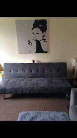 Lovely grey sofabed for sale!
