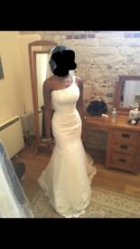 Size 8-12 couture Kosibah wedding dress