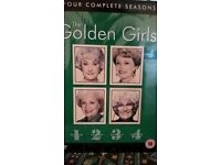 The Golden girls - Complete seasons 1-4. sealed never opened.