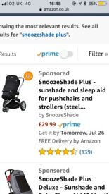 SnoozeShade Plus in excellent condition (barely used) - £10