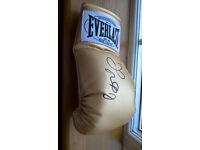 Floyd Mayweather Jr. signed glove everlast