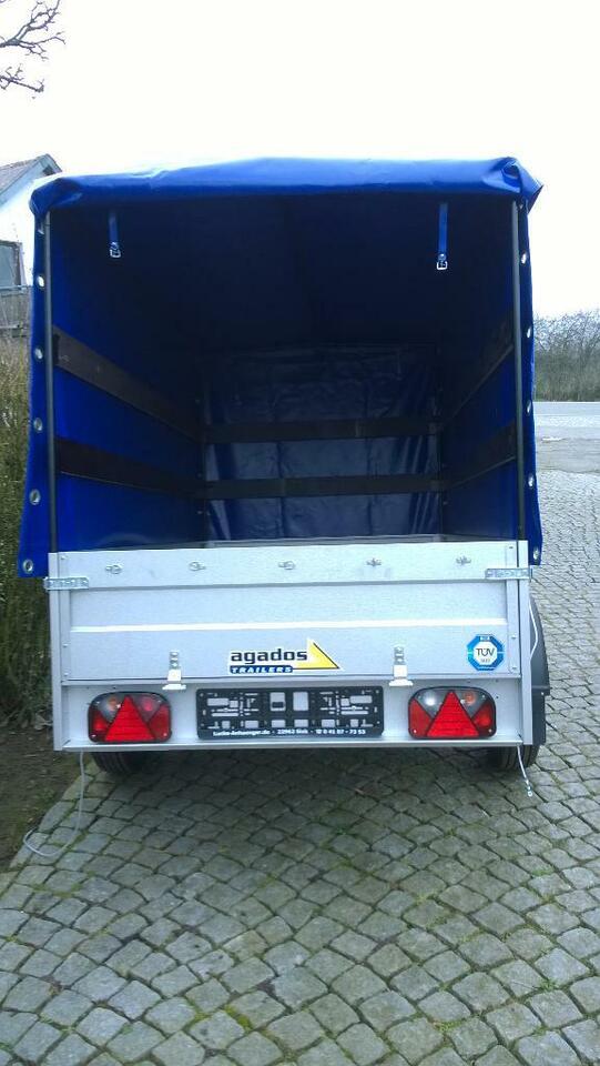 AGADOS PKW Anhänger, 2260x1250x1340, 750kg, Hochplane blau, NEU in Siek