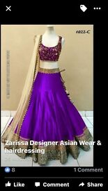 Indian lengha unstitched