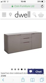 Grey Sideboard