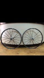 Mavic Ksyrium SLS clincher wheelset 700c Shimano Specialized Trek Cannondale Rapha