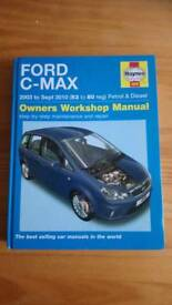 Haynes manual for a Ford c max