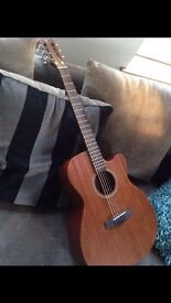 Tanglewood TW130SMCE Acoustic guitar +Shadow Pickup