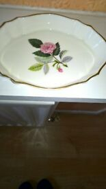 Wedgwood Hathaway Rose Design China Trinket Dish Excellent Condition