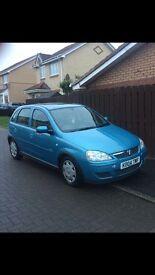 Vauxhall Corsa 6 months MOT