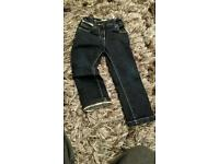 BURBERRY KIDS GIRLS JEANS FITS 4YR OLDS PLUS FREE TRACKED DELIVERY