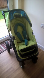 Obaby ZEZU 2 in 1 pramette/pushchair/pram
