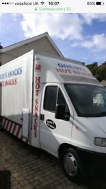 Catering van 12 month mot great van inside and out. Ready to go.