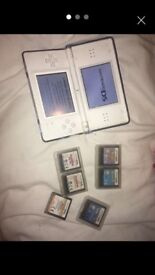 Ds lite for sale with games