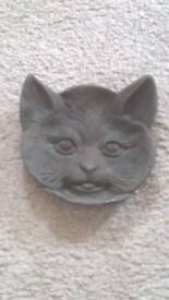 Solid Metal Heavy CAT Ash Tray