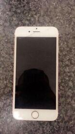 iPhone 6S ROSE GOLD 16b unlocked needs lcd