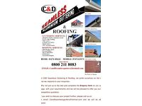C&D seamless guttering & Roofing