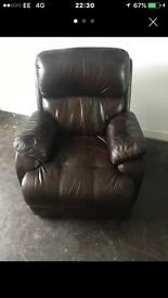 Quality leather chair