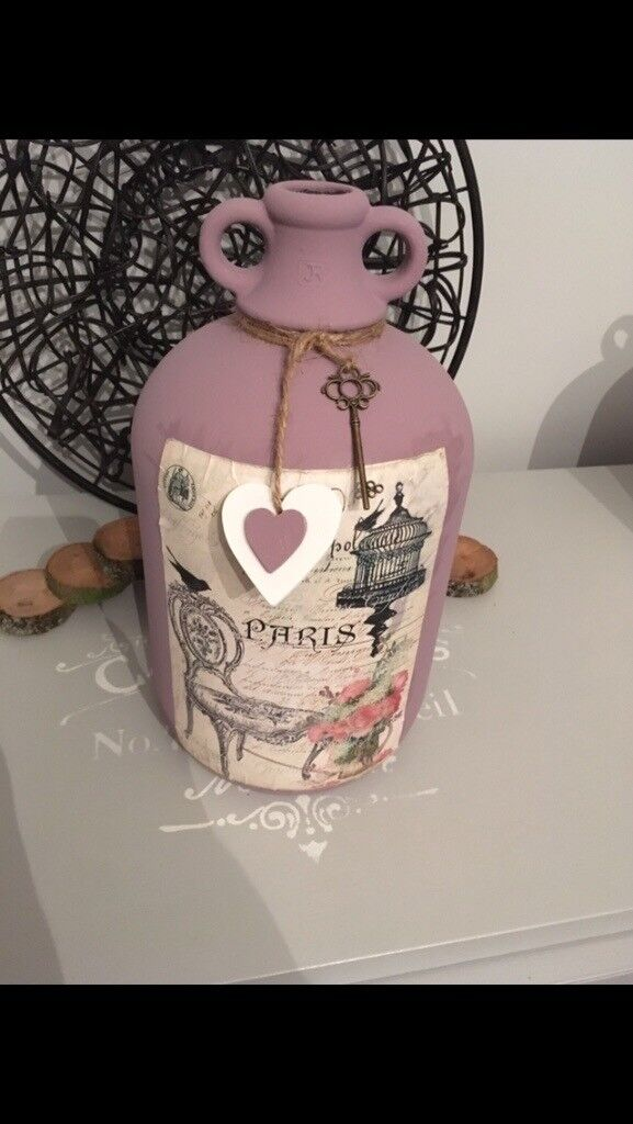Hand painted Demijohns