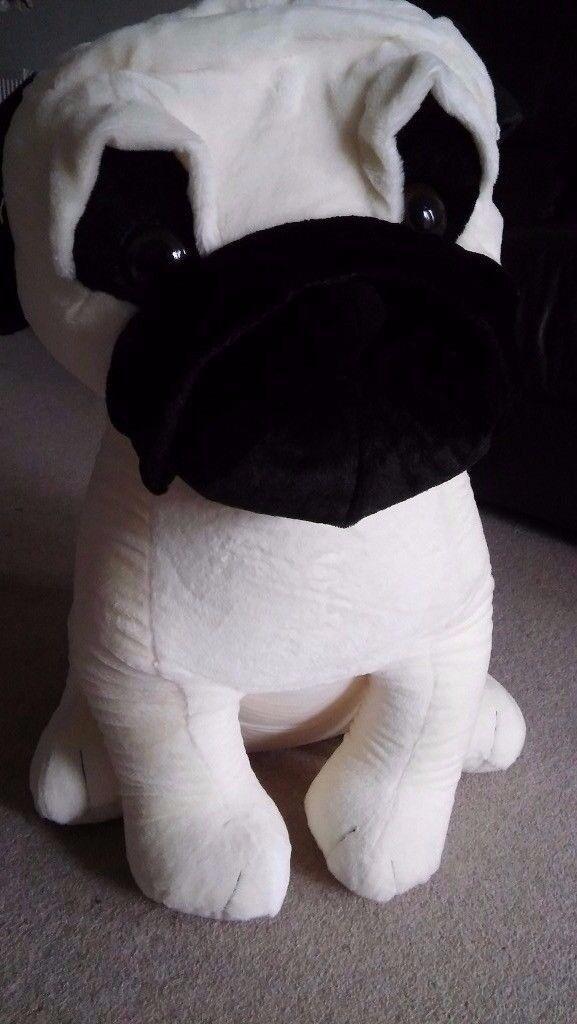 ~~~~~~~~~MEGA plush toy PUG 32'' Soft cuddly toy dog~~~~~