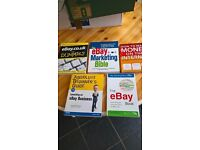 FAB SET OF BOOKS ...WANT TO MAKE MONEY ON INTERNET?? COLLECTION OF 5 EXPENSIVE BOOKS TO HELP £10