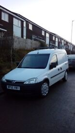Vauxhaul combo Small van low milage. Clean. Starts every time.well maintained.12 months MOT