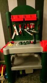 Bosch toy tool work bench