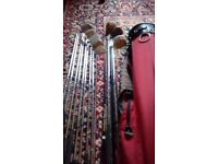 13 golf clubs and bag