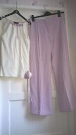 Beautiful Principles Trouser suit (Trousers & top) size 10