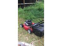 Pertrol lawn mower