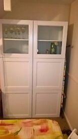 IKEA Storage Combination with two glass doors