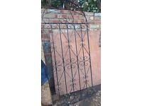 cast iron gate 6ft tall