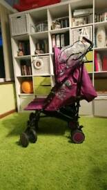 Pre-Loved Zeta Citi TWIN Stroller Purple